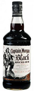 Captain Morgan Rum Black Spiced 750ml